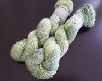 Hand-dyed wool Alpaca Handdyed yarn