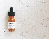 FACIAL GLOW SERUM // face serum // vegan serum // organic serum // vegan skincare // serum // fairtrade // essential oils // oils // glow