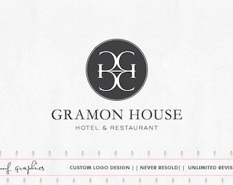 Custom logo, Business Logo, Initals Logo, Business Design, logo, OOAK logo, Logo Design, Hotel logo, Restaurant  Logo, Luxury logo, Monogram