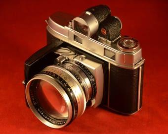 RARE Kodak Retina II with 50mm 2.8 and 80 mm 4.0