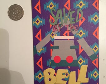 Pokémon Bronzong 'Saved by the Bell' postcard ORIGINAL ARTWORK 90s