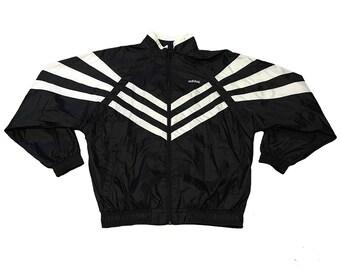 Vintage Striped Adidas Jacket
