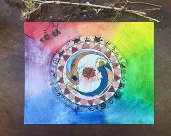 PRINTS of Medicine Wheel