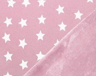 Sweatshirt fleece pink stars