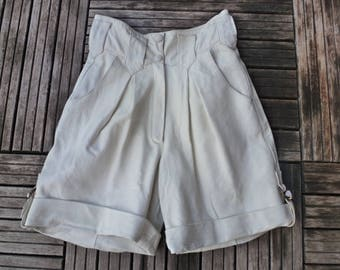 short leather genuine vintage 80's