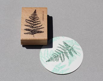 Stamp Fern Leaf