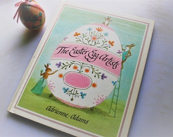 The Easter Egg Artists, Adrienne Adams, Weekly Reader Edition, 1977