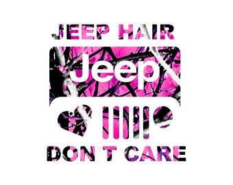 Jeep Hair Muddy Girl Camo