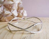 Sterling silver double wi...