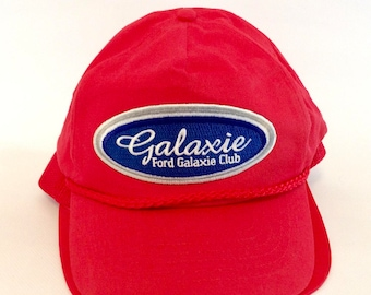 Vintage Ford Galaxie Car Club Hat from the 1980s