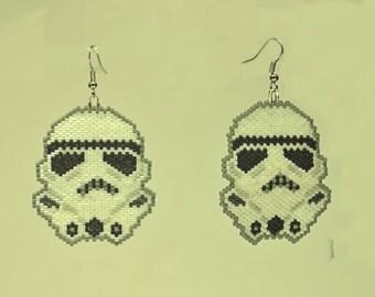 Space Men Earrings