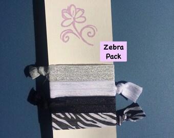 Elastic Hair Tie, Hair Tie, Hair Accessory, Party Favors, Fold Over Elastic, Fold Over Elastic Hair Tie, Bracelet, BOHO Bracelet