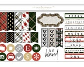 Christmas Time Page Flags & Icons