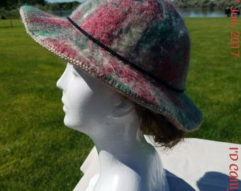 Handmade Colorful Felted Wool Clothe - Ladies Size 19