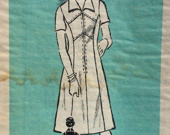 Mail order 4769 misses dress w/princess seaming size 20 bust 42 vintage 1960's sewing pattern  Uncut  Factory Folds
