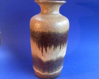 "Vintage 12"" Mid Century West Germany Pottery Vase"
