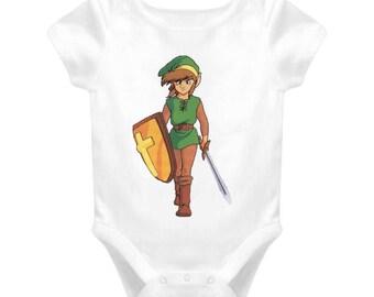 The Legend Of Zelda Link Baby One Piece