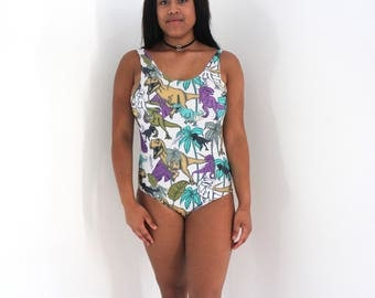 T-Rex All over print Swimsuit