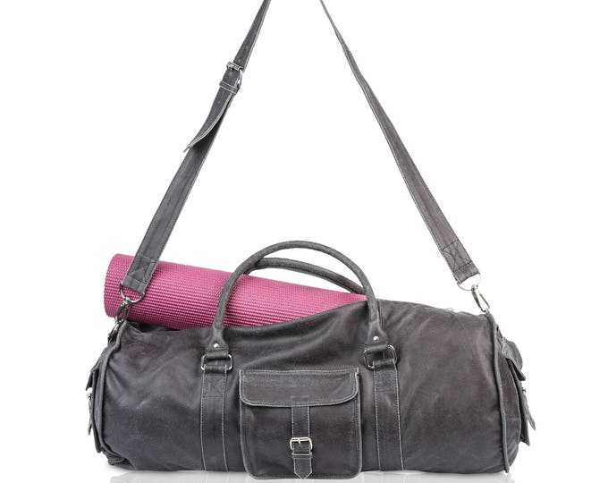 Pyar&Co. Leather Yoga Bag