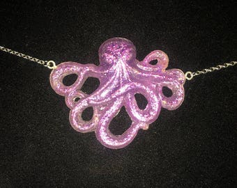 Glowing Octopus Necklace