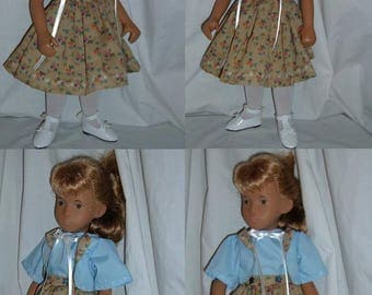 "Fall Fashion Jacket & Dress Set for 16"" Trendon Sasha or Mandy Fisher Price Dolls"