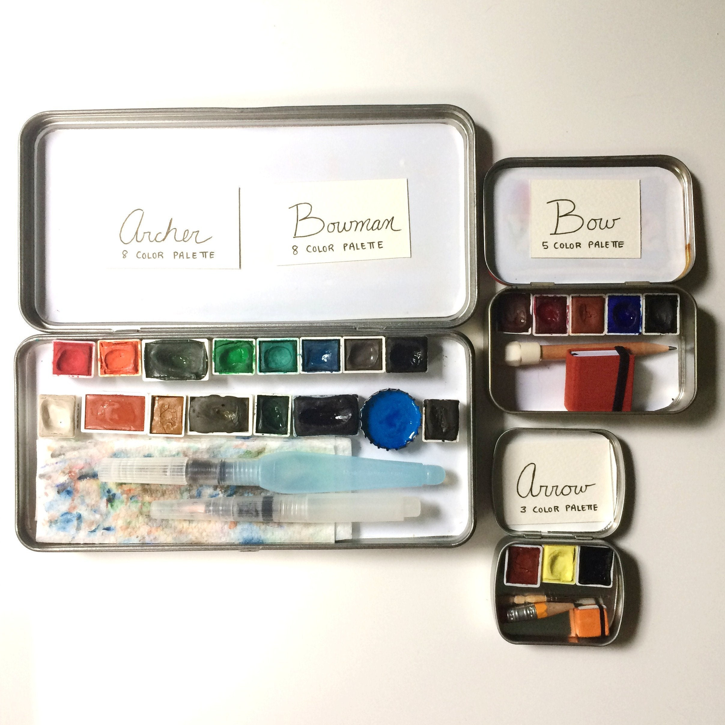 four new palettes