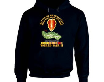 Army - 25th Infantry Division - Wwii - Guadalcanal Hoodie