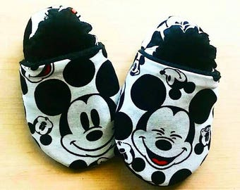 Mickey Mouse Inspired Baby/ Kid Booties
