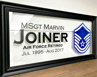 Military Retirement, Air Force Gifts, Airforce Gifts, Air Force Wife, Airforce Wife, Military Retirement Gifts, Military Graduation,