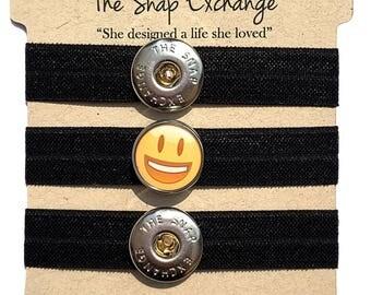 Emoji stretch bracelet