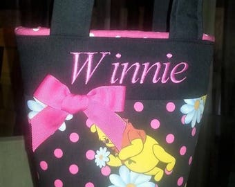 "Winnie the Pooh Personalized ""Mini"" Little Girl Toddler Purse"