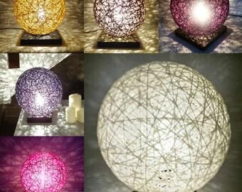 Lamp ball threads interwoven 20cm