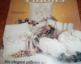 House Of White Birches Crochet Heirloom Pillows Leaflet
