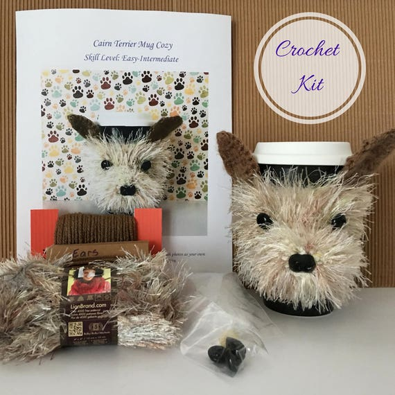 Crocket Kit Amigurumi Kit Crochet Pattern Dog Crochet
