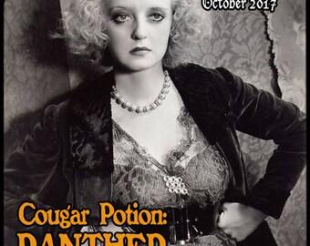 Cougar Potion: Panther - Halloween 2017 Collection - Pheromone Enhanced Perfume for Women - Love Potion Magickal Perfumerie