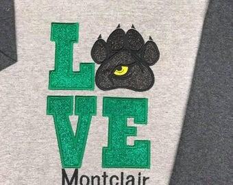 Montclair Elementary School Panther Love