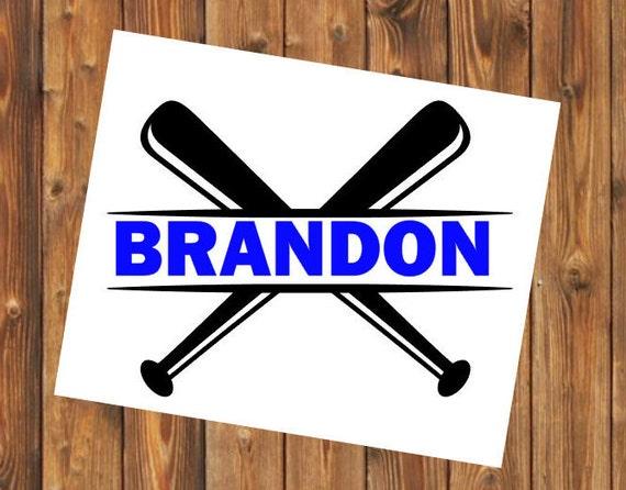 Free Shipping- Baseball Bat, Batter, Pitcher, Catcher, Coach, Sports Team, Elite, Yeti RTIC Water Bottle Decal Sticker