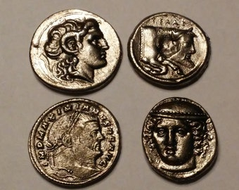 Ancient Coin Copies 4 Total