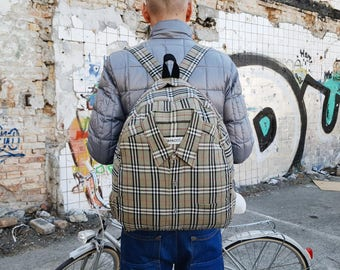 backpack purse women backpack fashion backpack eco-friendly backpack rare backpack rucksack burberry bag one of a kind backpack unique