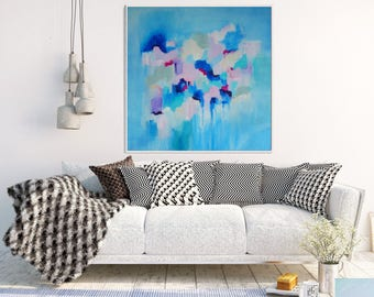 Original Artwork, Abstract Art, Abstract Painting, Abstract Canvas, Blue Abstract Art, Modern Art, Abstract Wall Art, Contemporary Art
