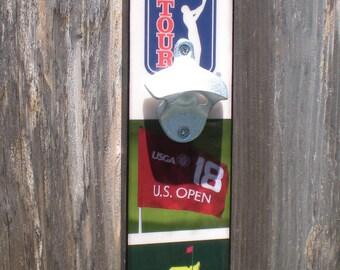 Golf gift Bottle Opener, Golf Gift For Men, Golf Accessories, Gift for Him, Bar Sign