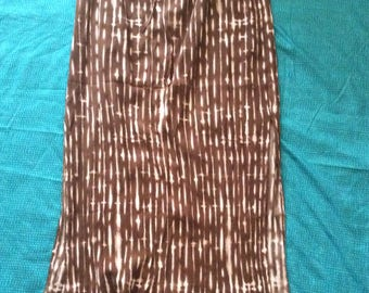 Indian Long Skirt with Embroidered Top