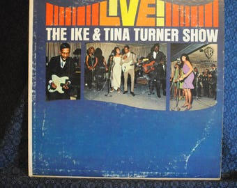 Live! Ike and Tina Turner Show Record LP Album
