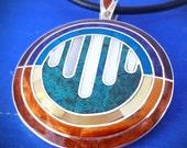 matrix energetics pendant necklace richard barlett pendant healing necklace awakening jewelry recovery pendant sacred symbol peruvian shaman