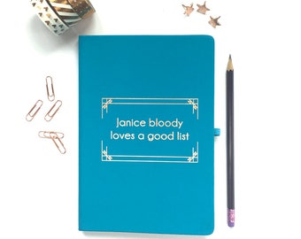 Personalised notebook, Foiled notebook, Personalised Gift, Rose Gold Notebook, Copper Notebook, Personalised Journal, Personalised to do