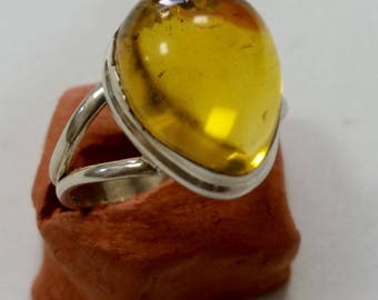 Mexican amber ring