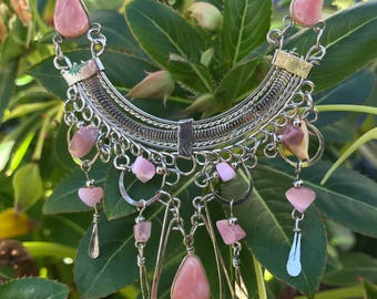 Pink Peruvian Necklace