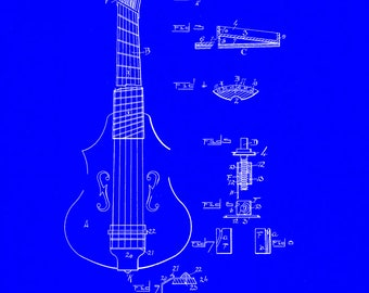 Stringed Instrument Patent #652353 Dated June 26, 1900.