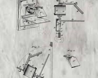 Camera Obscura Patent # 243813 dated July 5, 1881.