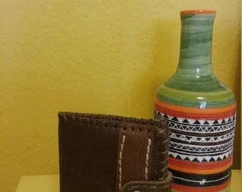 Men Card Holder,Wallet / Leather/Handmade